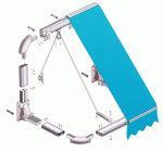 La capota de 2 arcos, tradicional, práctica y económica